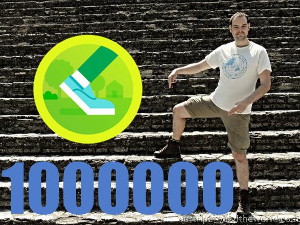 Pavlovo 1000000 kroků