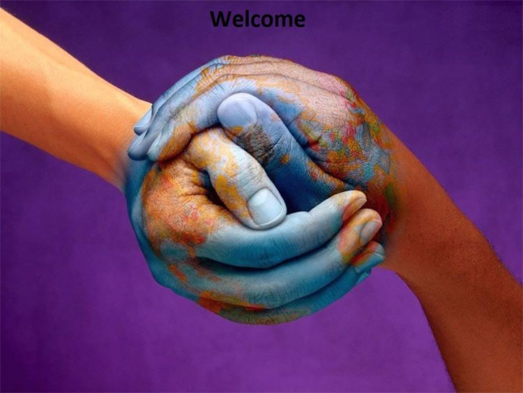 Two hands make one world