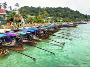 Tonsai Pier Phi Phi Islands