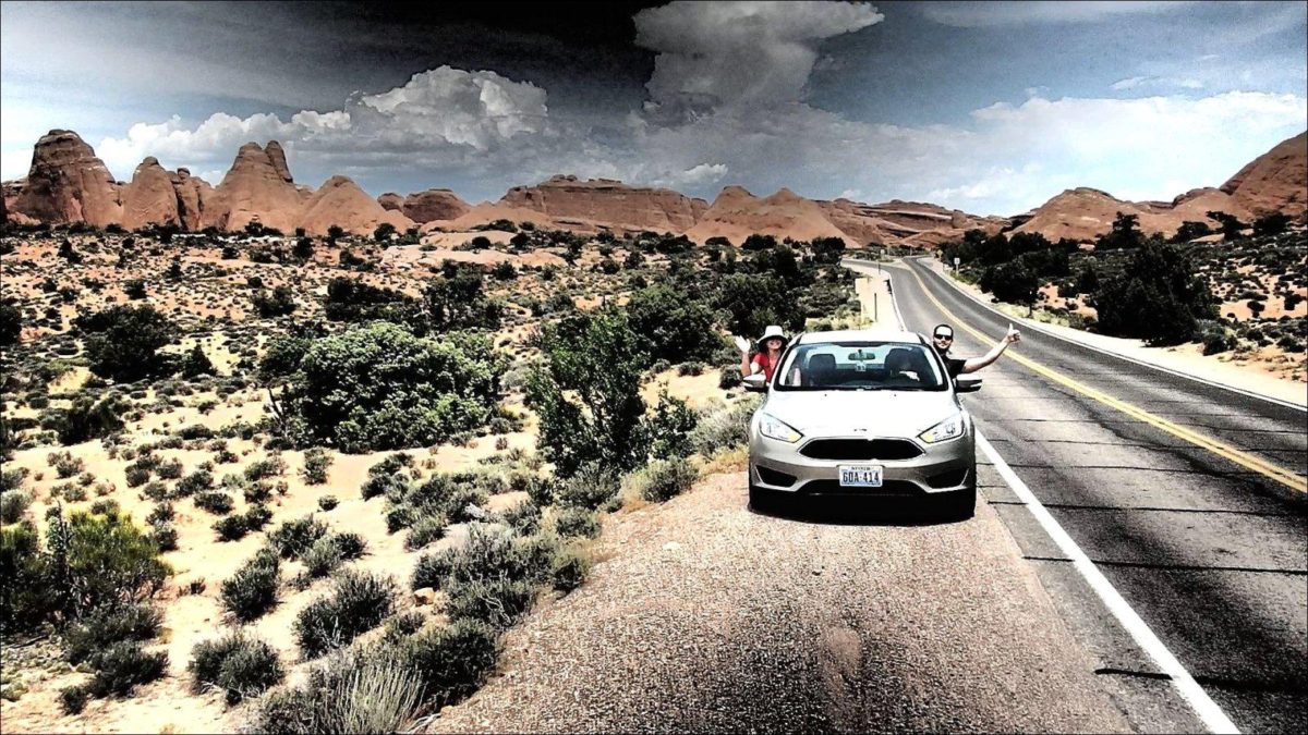 Road trip in southwest USA