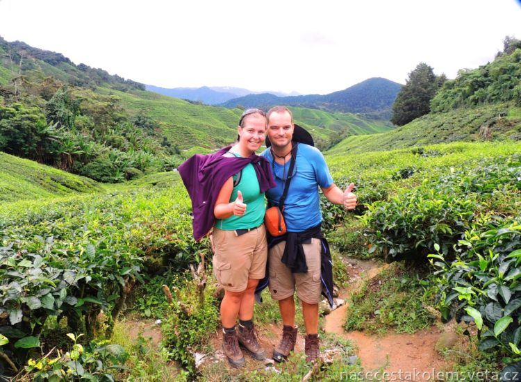BOH Sungai Tea Plantation with Pavel and Martina