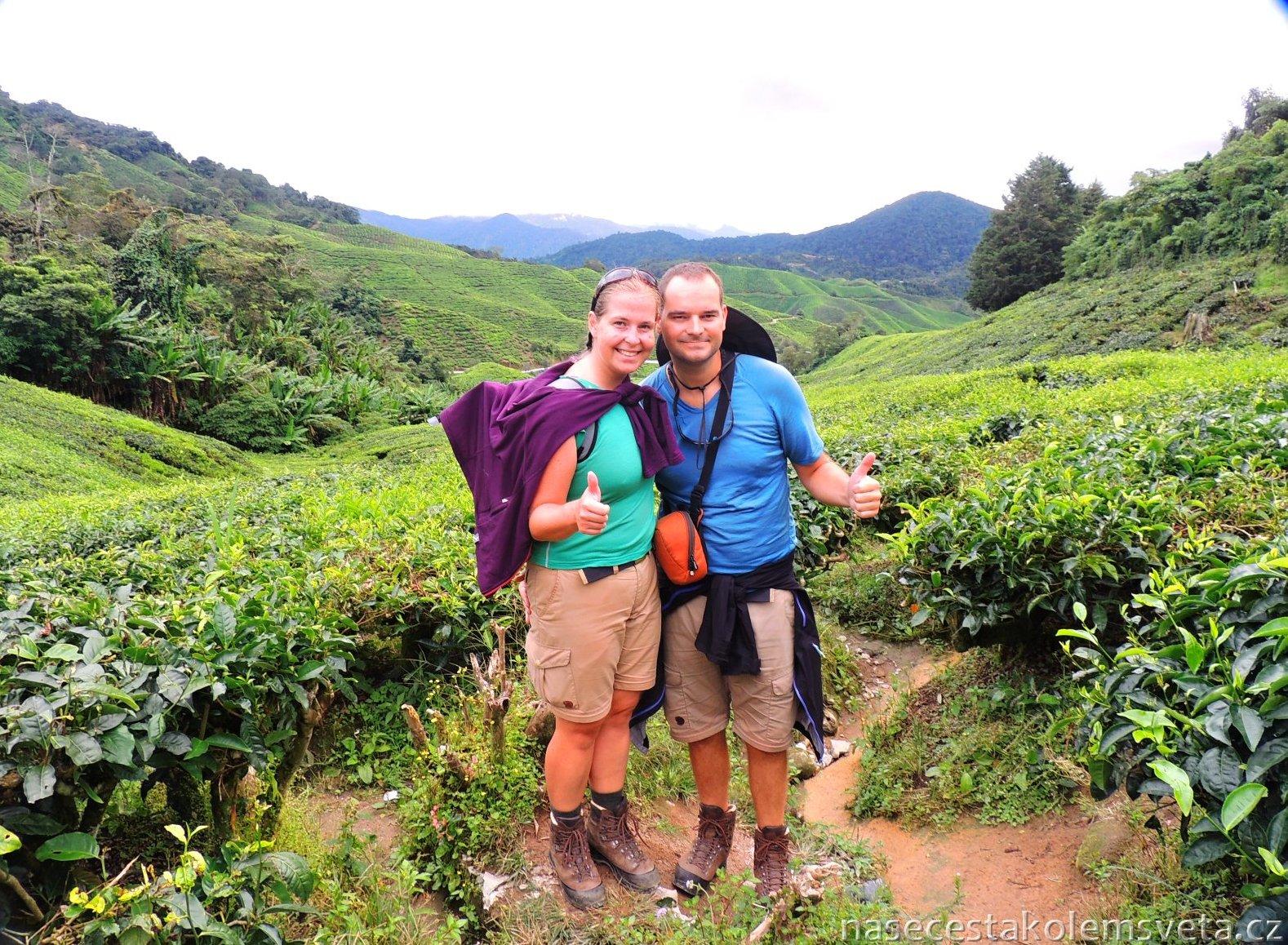 BOH Sungai Tea Plantation with Pavel and Martina