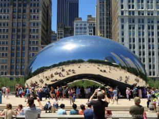 bean at Millenium Park Chicago