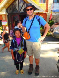 Black Hmong Tao woman Vietnam
