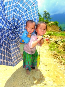 Children in Sapa Vietnam