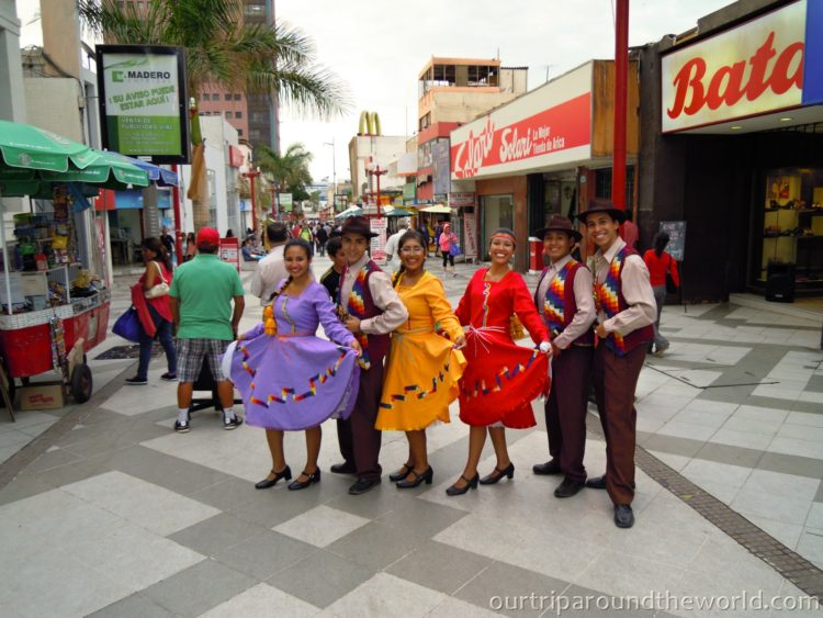 Dancers in Arica