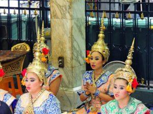 Thai dancers Erawan Square