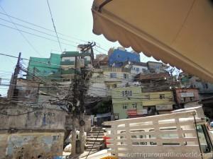 domy ve favele Rocinha