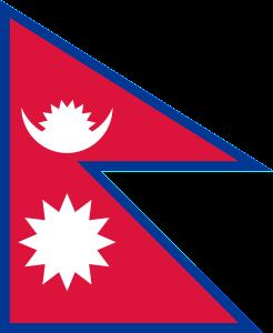 vlajka Nepálu