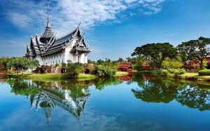 Historical Wat Thailand