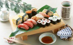 Japonské sushi, sushi