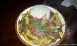 Food in Peru