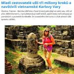 Karlovarsky denik - usli jsme 3000000 kroku a navstivili Vietnamske Karlovy Vary