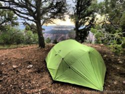 MSR tent Grand Canyon