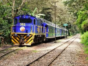 Peru rail na Machu Picchu