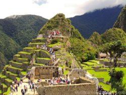 Observatory on Machu Picchu