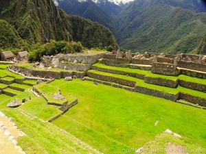 Square on Machu Picchu