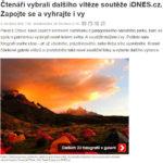 iDnes - vyhra ve fotosoutezi