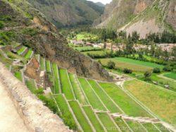 Ollantaytambo Inca village
