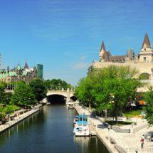 Parliament and Chateau Fairmont Ottawa