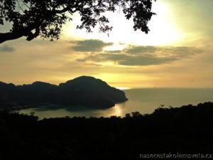sunset Phi Phi Viewpoint