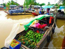 Phong Dien Floating market Mekong Delta