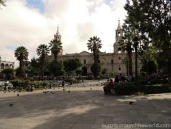 Plaza de Armas Arequipa Peru
