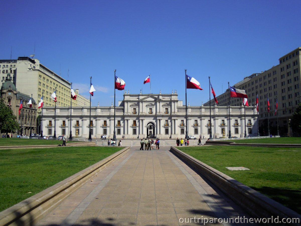 President Palace Santiago de Chile