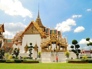 Královský palác Bangkok Thajsko