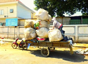 Život na ulici Phnom Penhu
