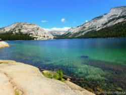 Tenaya Lake Tioga Pass Yosemite