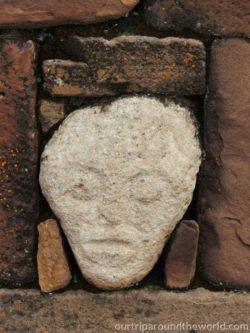 Tihuanaco alien head