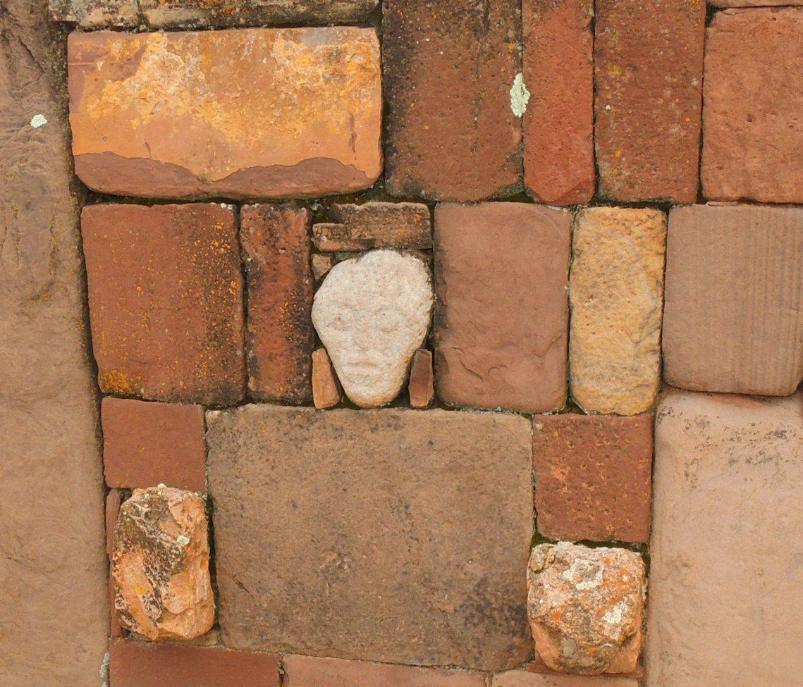 Tiwanaku alien head
