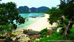 Záliv Tonsai Bay Ko Phi Phi