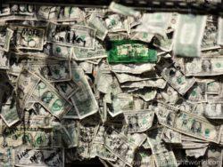 Money from restaurant in Key West