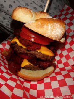 Burger from Las Vegas