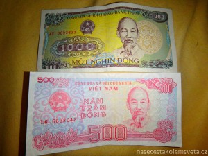 vietnamské dongy