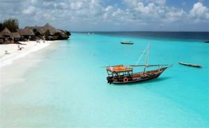 Zanzibar pláž