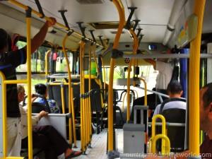 Autobus ze vnitr