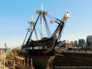 Constitution boat Boston