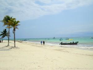 Pláže v Mexiku