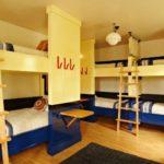 hostel, pokoj v hostelu