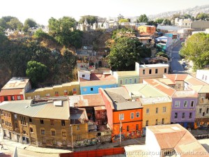 Valparaíso domy
