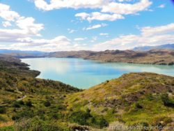 Lake in Torres del Paine