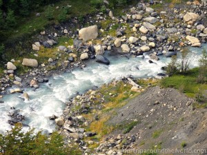 river in Torres del Paine