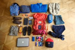 travel gear, equipment